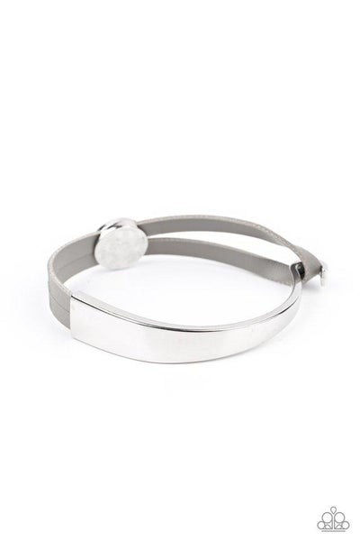 Paparazzi Bracelet ~ A Notch Above The Rest - Silver