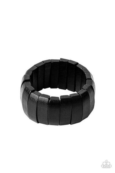 Paparazzi Bracelet ~ Raise The BARBADOS - Black