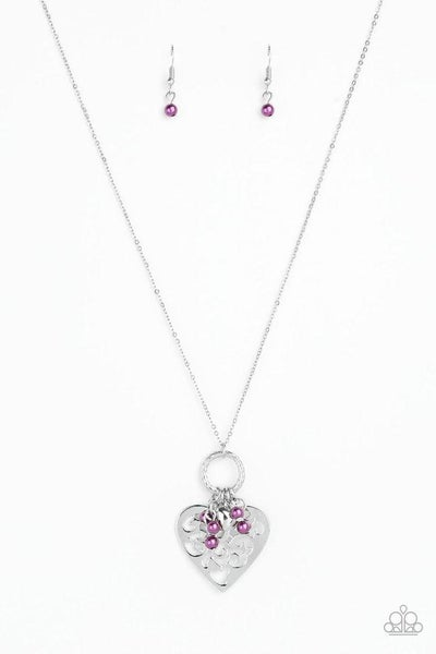 Paparazzi Necklace ~ Romeo Romance - Purple