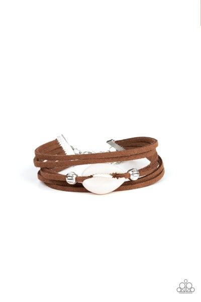 Paparazzi Bracelet ~ Vitamin SEA - Brown