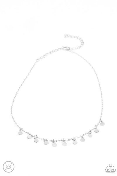 Paparazzi Necklace ~ Ready, Set, DISCO! - Silver