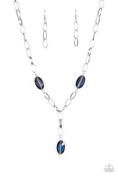 Paparazzi Necklace ~ Power Up - Purple