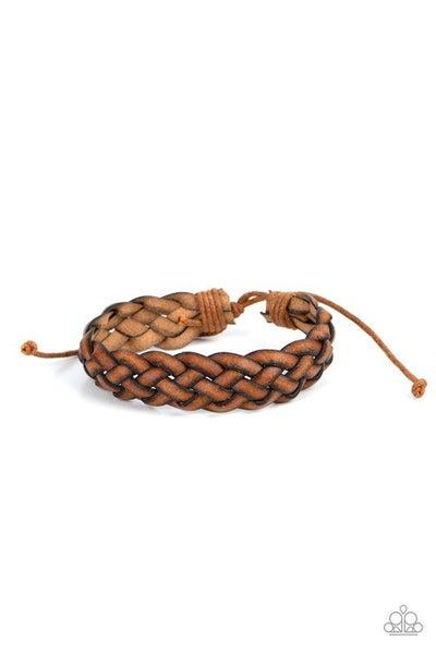 Paparazzi Bracelet PREORDER ~ Plain and Prairie - Brown