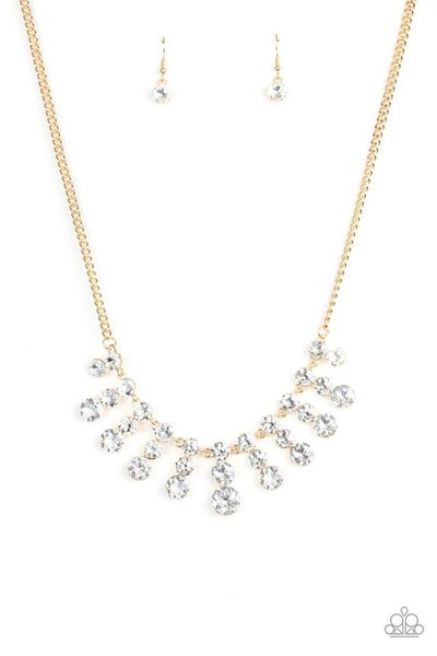 Paparazzi Necklace ~ Celebrity Couture - Gold