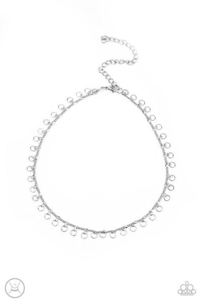 Paparazzi Necklace ~ Minimalist Magic - Silver
