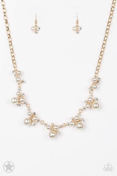 Paparazzi Necklace Blockbuster - Toast To Perfection - Gold