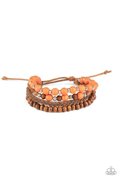 Paparazzi Bracelet ~ Renewable Energy - Orange