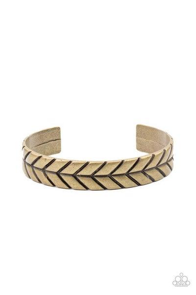 Paparazzi Bracelet ~ Ancient Archer - Brass