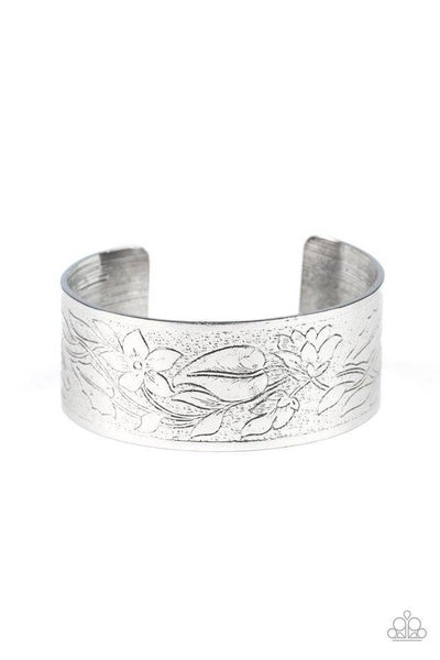 Paparazzi Bracelet ~ Garden Variety - Silver
