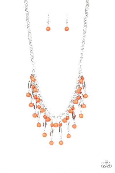 Paparazzi Necklace ~ Earth Conscious - Orange
