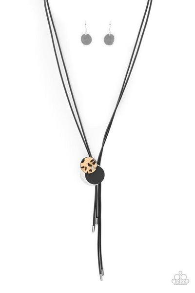 Paparazzi Necklace ~ Im FELINE Good - Black