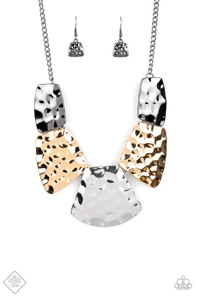 Paparazzi Necklace ~ HAUTE Plates - Fashion Fix Nov 2020 - Multi
