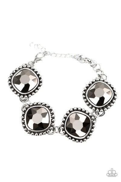 Paparazzi Bracelet ~ Megawatt - Silver