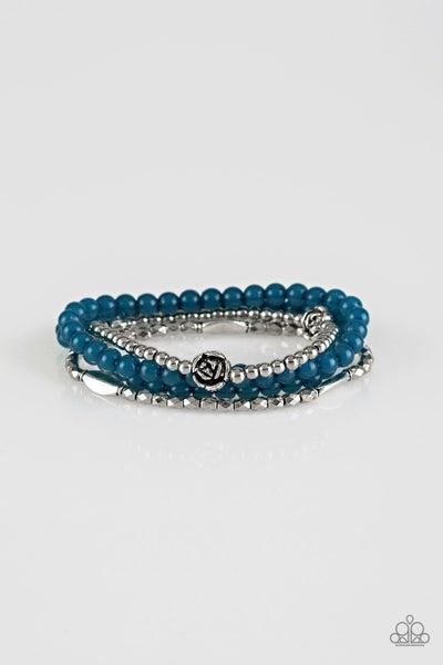 Paparazzi Bracelet ~ Blooming Buttercups - Blue