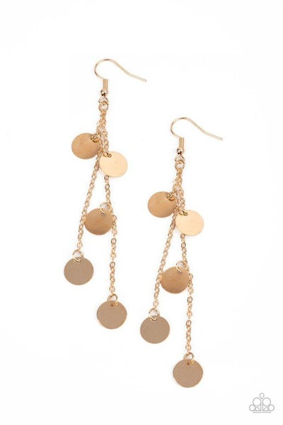 Paparazzi Earring ~ Take A Good Look - Gold