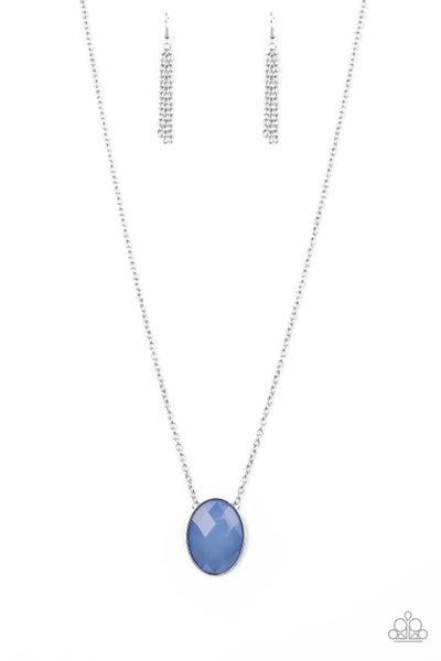 Paparazzi Necklace ~ Intensely Illuminated - Blue