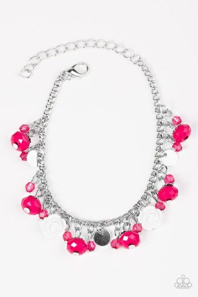 Paparazzi Bracelet ~ Spoken For - Pink