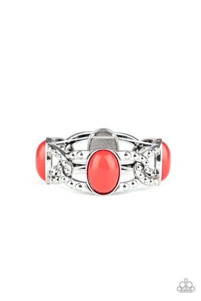 Paparazzi Bracelet ~ Dreamy Gleam - Red