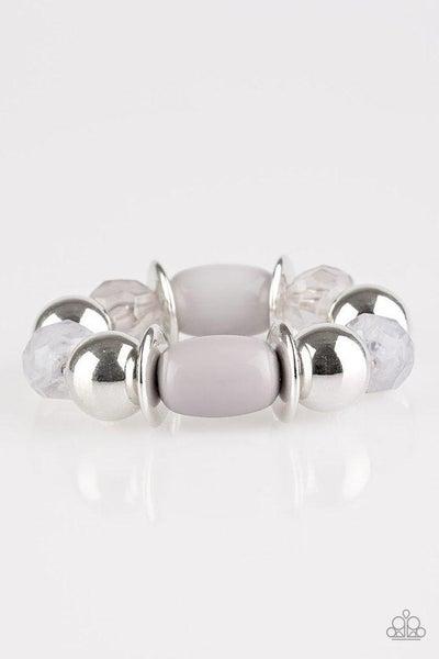 Paparazzi Bracelet - BAY After BAY - Silver