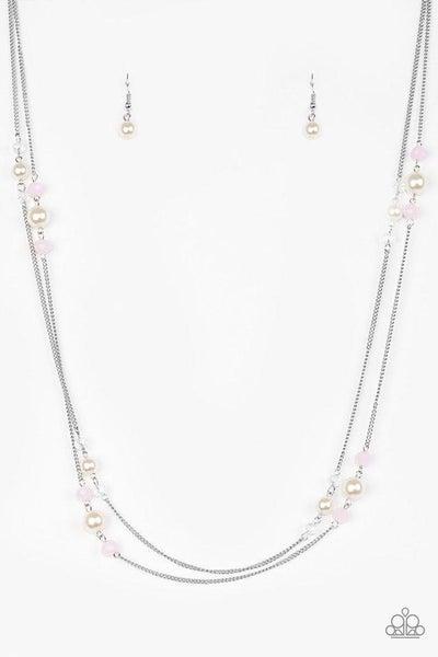 Paparazzi Necklace - Spring Splash - Pink