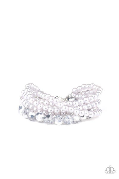 Paparazzi Bracelet ~ Refined Renegade - Silver