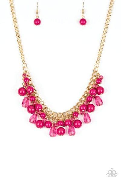 Paparazzi Necklace ~ Tour de Trendsetter - Pink