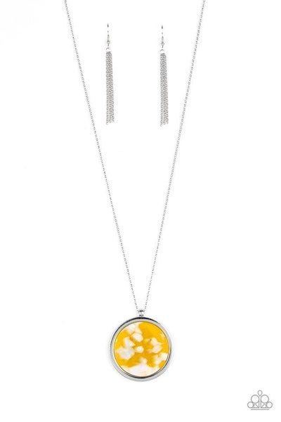 Paparazzi Necklace ~ Its POP Secret! - Yellow