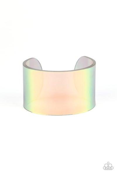 Paparazzi Bracelet ~ Holographic Aura - Multi