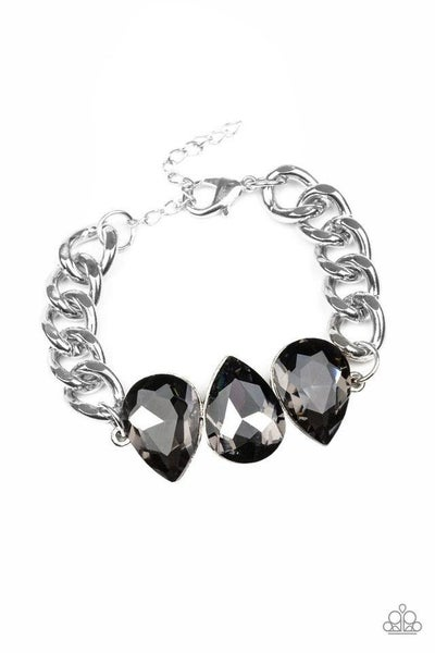Paparazzi Bracelet ~ Bring Your Own Bling - Silver