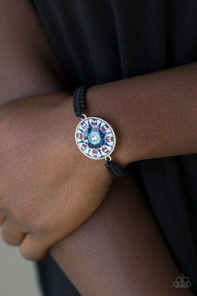Paparazzi Bracelet ~ Tropic Topic - Blue