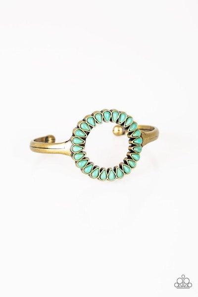Paparazzi Bracelet ~ Divinely Desert - Brass