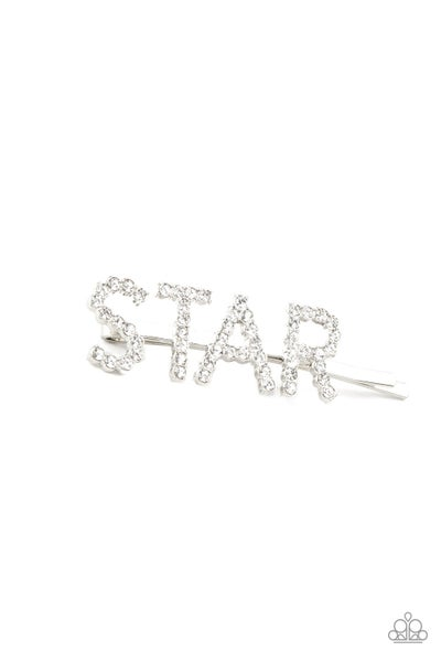 Paparazzi Hair Accessories ~ Star In Your Own Show - White
