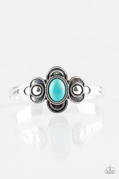 Paparazzi Bracelet ~ Dream COWGIRL -Blue