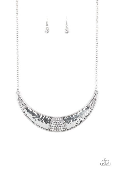 Paparazzi Necklace ~ Stardust - White