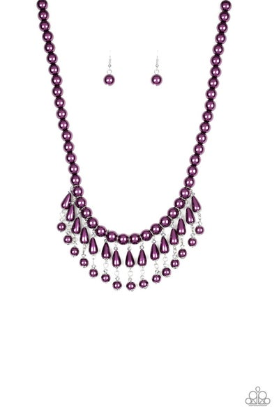 Paparazzi Necklace ~ Miss Majestic - Purple
