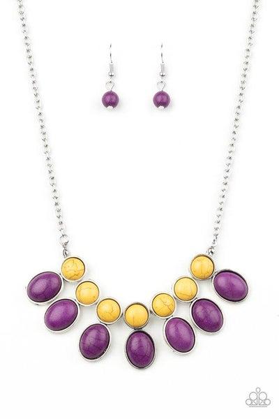 Paparazzi Necklace ~ Environmental Impact - Purple