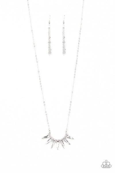Paparazzi Necklace ~ Empirical Elegance - White