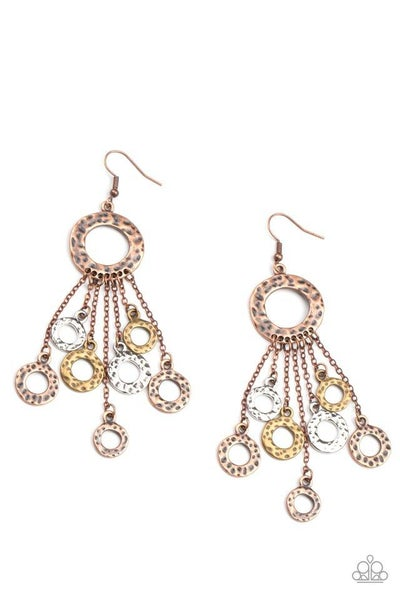 Paparazzi Earring PREORDER ~ Right Under Your NOISE - Multi