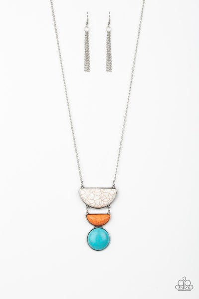 Paparazzi Necklace ~ Desert Mason - Multi