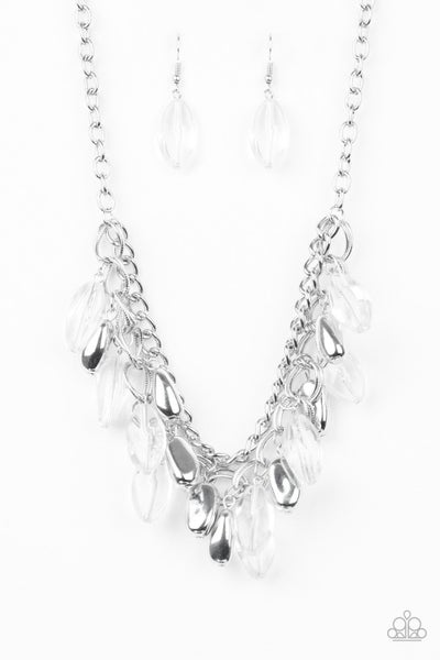 Paparazzi Necklace ~ Spring Daydream - White