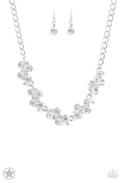 Paparazzi Necklace Blockbuster - Hollywood Hills - white