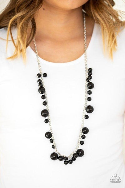 Paparazzi Necklace ~ Theres Always Room At The Top - Black