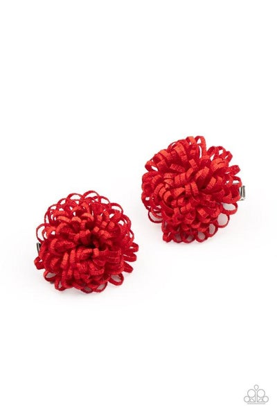 Paparazzi Hair Accessories PREORDER ~ Pretty in Posy - Red