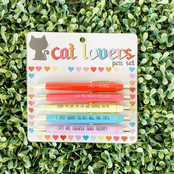 Cat Lover's Pen Set