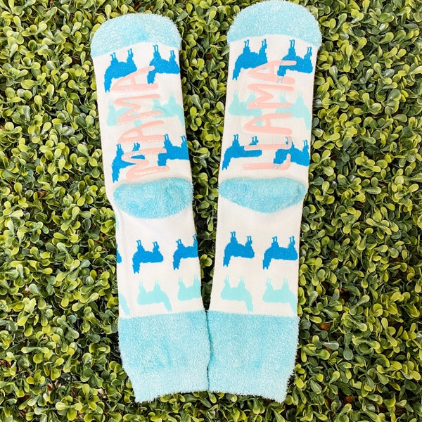 Mama Llama Socks *Final Sale*