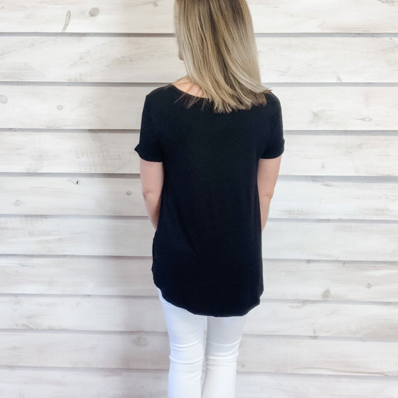 Black Super Soft Tee