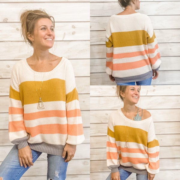 Cute and Cozy Striped Sweater