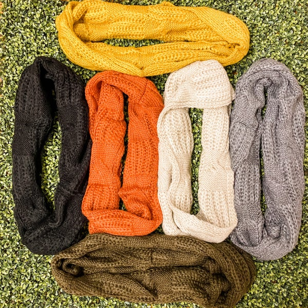 Ultra Cozy Infinity Scarf *Final Sale*