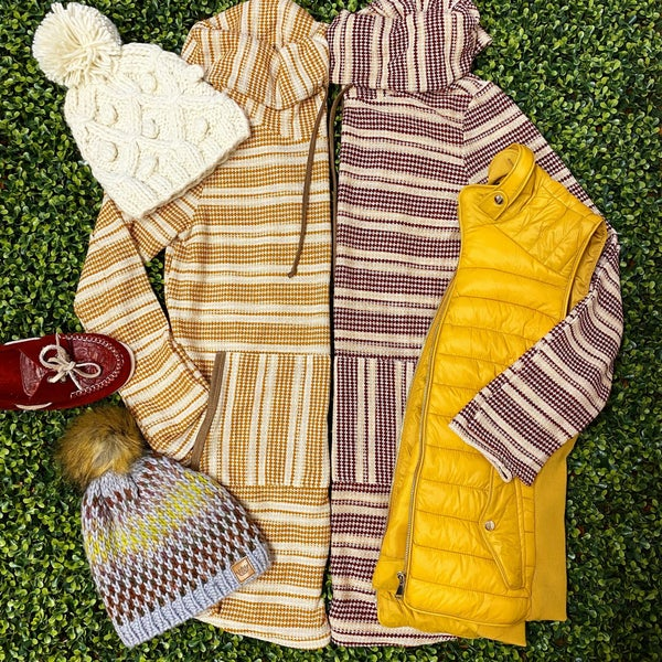 Super Cozy Fabric Striped Tunic *Final Sale*