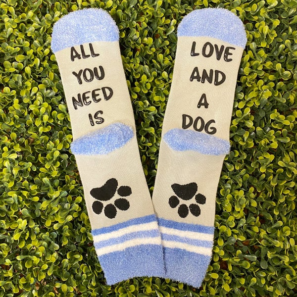 Love and a Dog Socks *Final Sale*